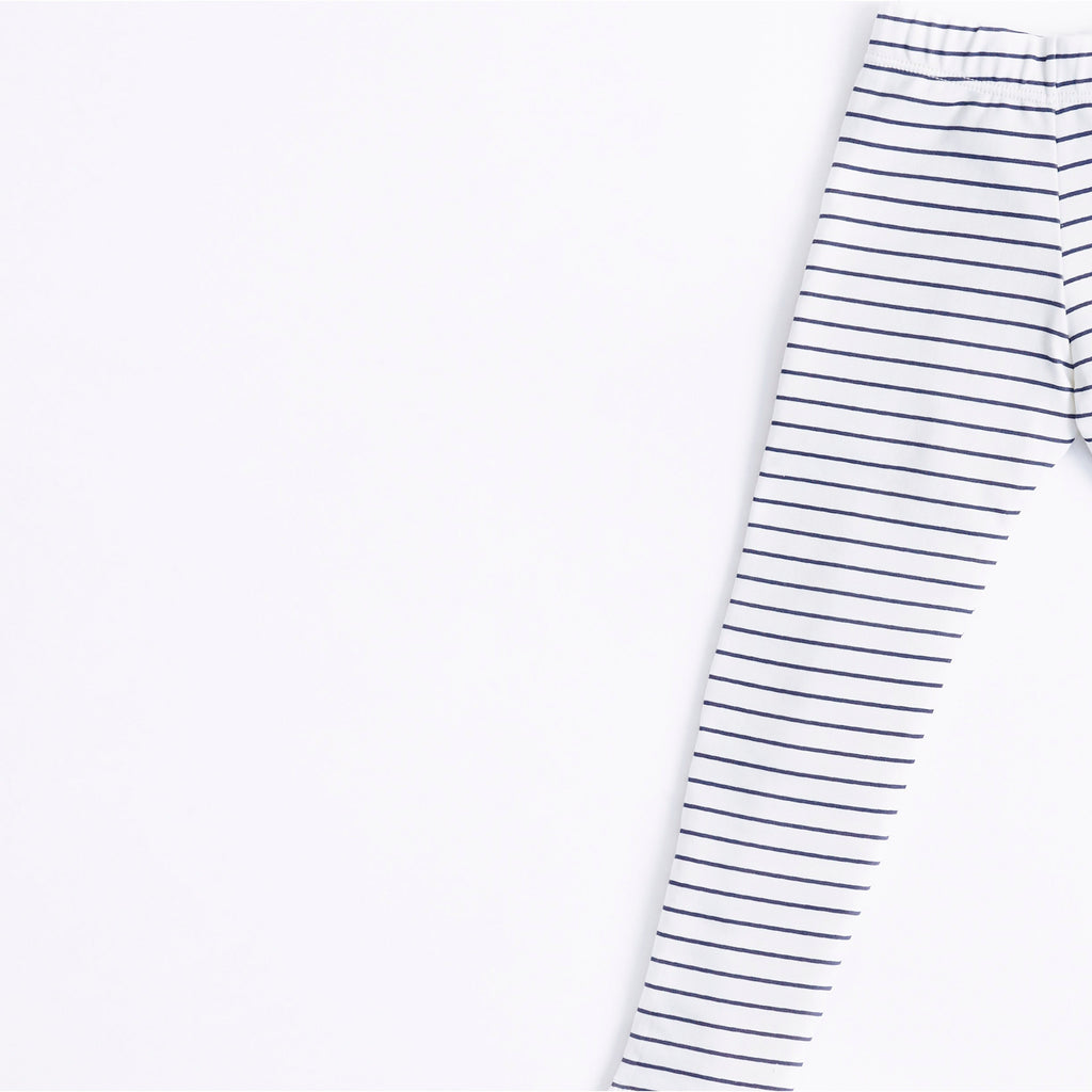 Legging Blue Stripes