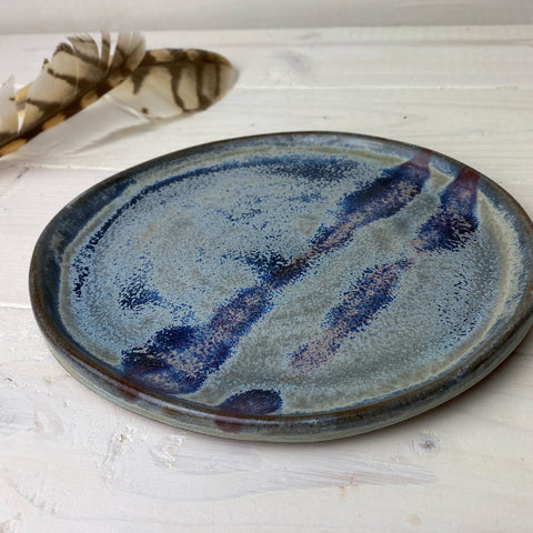 Second: Snack Plate Blue