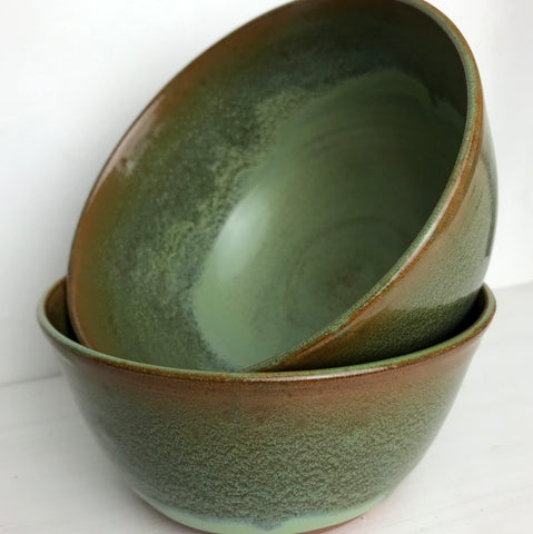 "Bowls (Set of 2, 7"" Wide): Celeste"