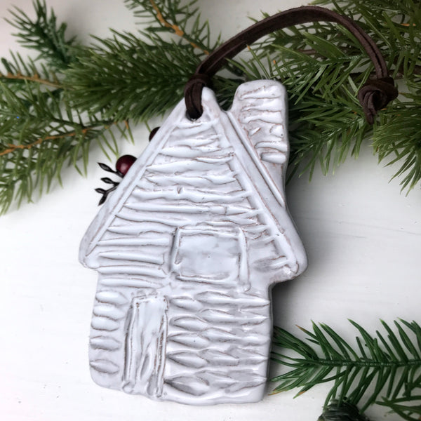 Christmas Ornament: His house is in the village though...