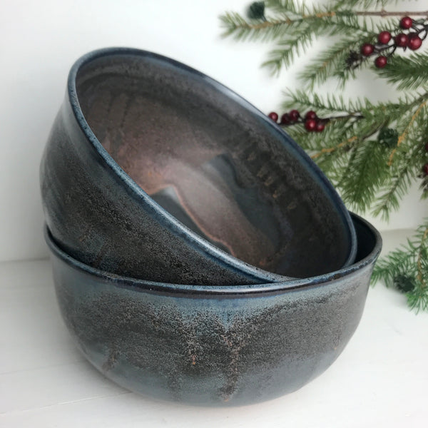 "Bowls (Set of 2, 7"" Wide): Or with a reindeer-sled, explore..."