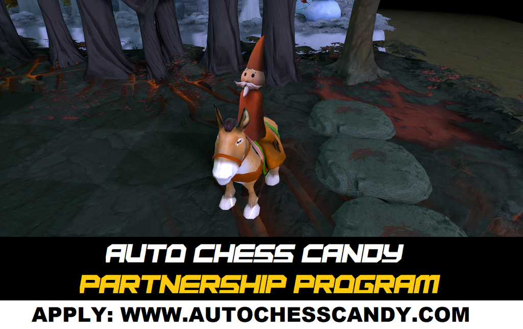 Auto Chess Candy is back! Partnership Program is now open