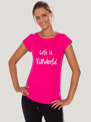 Life is Runderful T-Shirt allstridesin