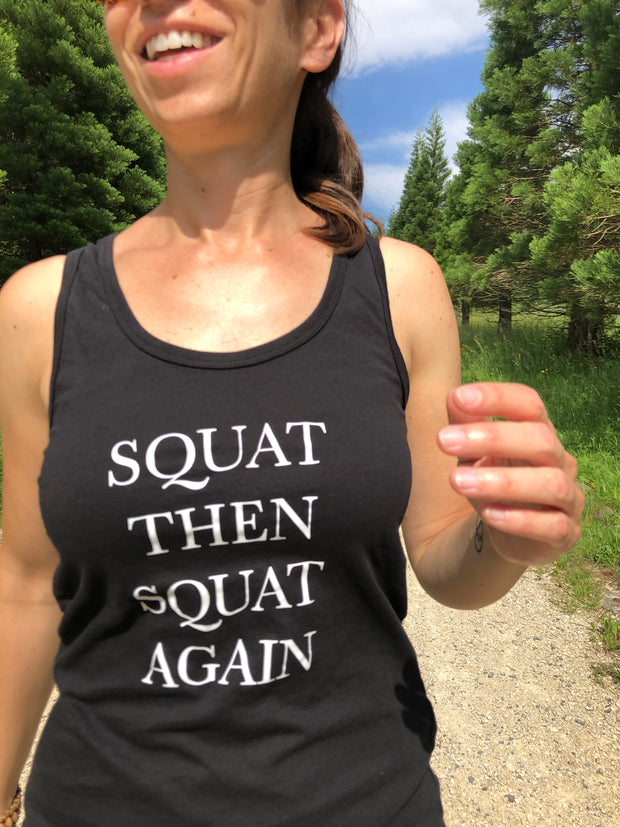 Squat then squat again Tank Top allstridesin