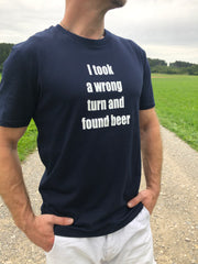 I took a wrong turn T-Shirt