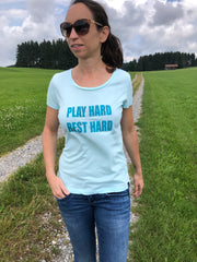 Play hard rest hard T-Shirt allstridesin