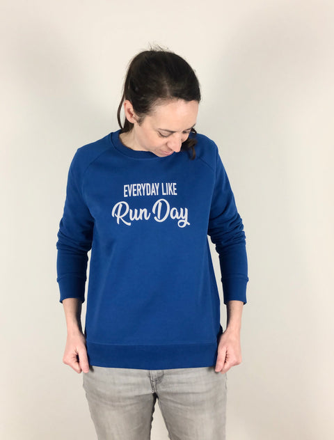 Everyday like Run Day Sweater allstridesin