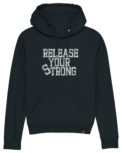 RELEASE YOUR STRONG - ICONIC LADY HOODIE | ALLSTRIDESIN®