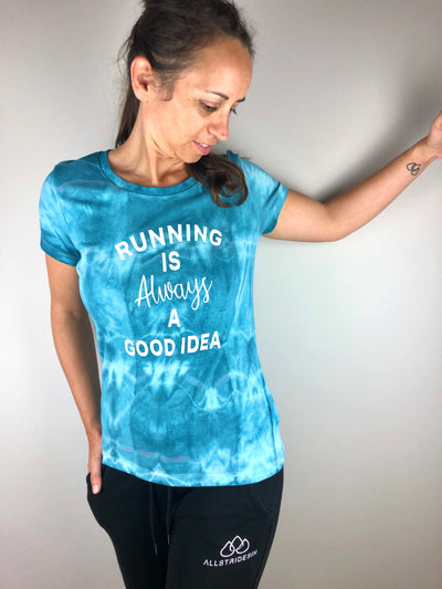 Running is always a good idea Batik T-Shirt