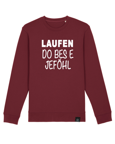 Laufen do bes e Jeföhl Iconic Unisex Sweater ALLSTRIDESIN®