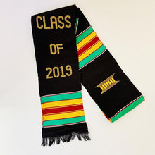 Load image into Gallery viewer, Kente Graduation Stole Class of 2019 - Kente Stoles
