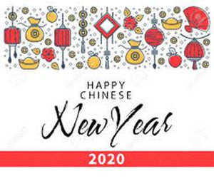 Happy Lunar New Year Holiday 2020