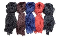 Silk & Modal Mixed Scarves(Fireworks Pattern)