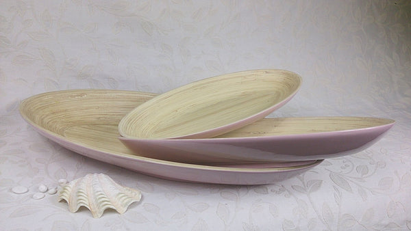 Oval Wooden Dish #02