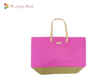 Beach Tote Bag (Pink)