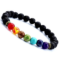 Lava Stone Color Bracelet