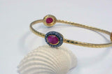 Handmade Bangle - Red