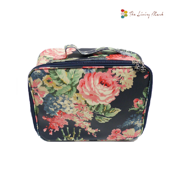 Extra Large Fashion Cosmetic Bag - Blue
