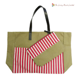 Large Size Shopper Bag (Red)