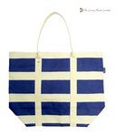 Stripes Beach Bag (Blue)