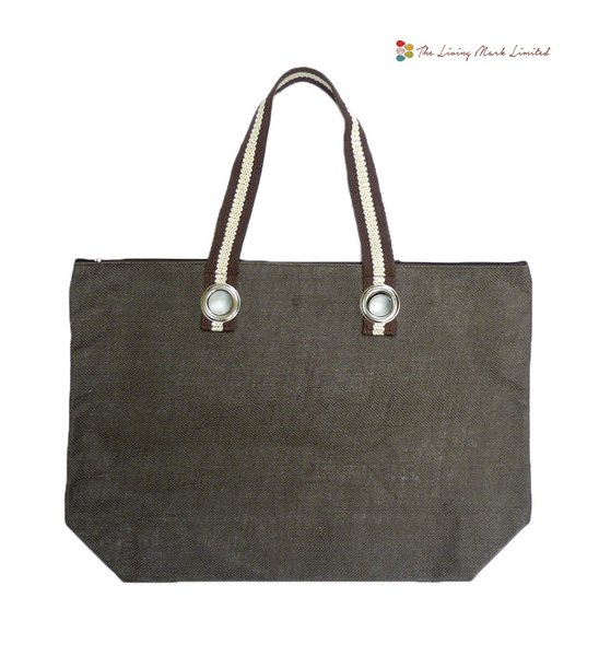Linen Shopping Bag (Green)