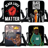 Black Lives Matter Small Shoulder Bags