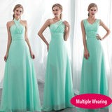 Chiffon Elegant Party Dress - Several Colours