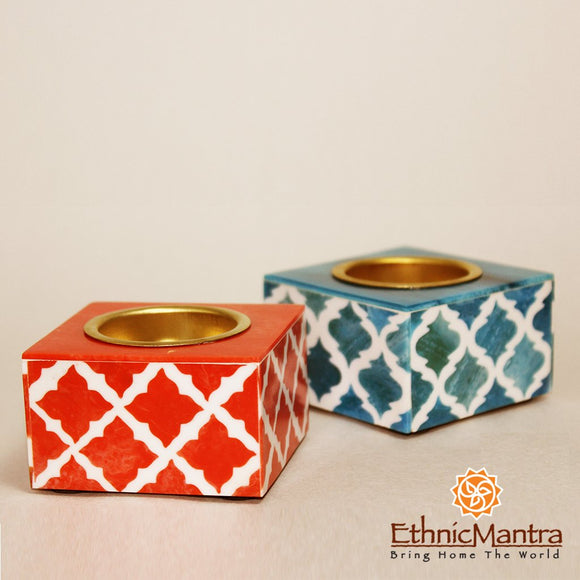 MOZAYKA - Mosaic Inspired Tea Light Holders