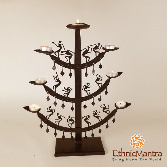 Tree Candle Stand