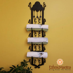 Towel Holder Wall Hanging