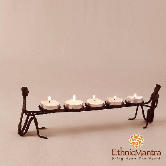 Figurines Candle Stand