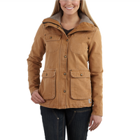 Carhartt Womens WESLEY WEATHERED DUCK CHORE Coat
