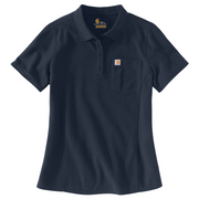 Carhartt WOMENS Relaxed fit Midweight Short Sleeve Polo