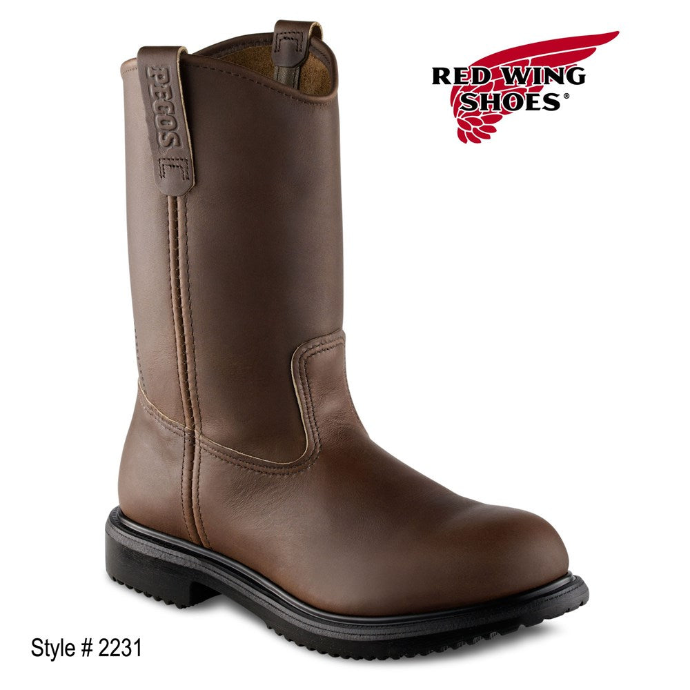 Red Wing Brown 11inch Pull on (2231)