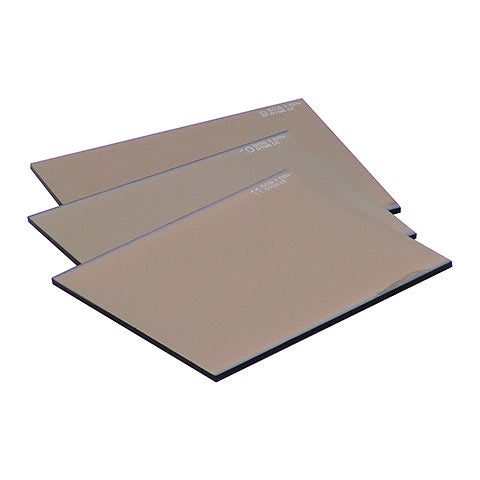 Welding Lens Gold 113 X 132mm