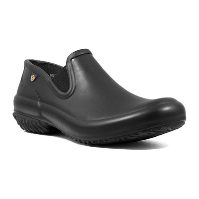 BOGS Womens PATCH Black Clog