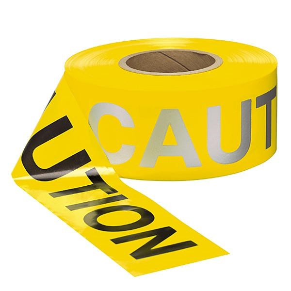 "Barrier Tape Reflective ""CAUTION"""