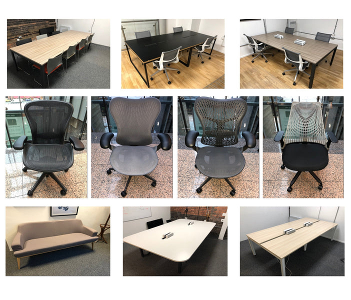 Latest Arrivals - Herman Miller Furniture Range Including Chairs, Pod Systems, Meeting Tables & Reception Furniture