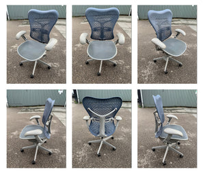 Just Arrived! Herman Miller Mirra TriFlex Office Chairs
