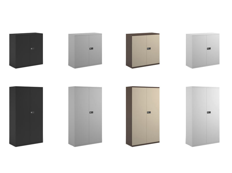 BIG DEALS March 2020 - Steel Contract 2 Door Cupboards From Just £144.99 Delivered