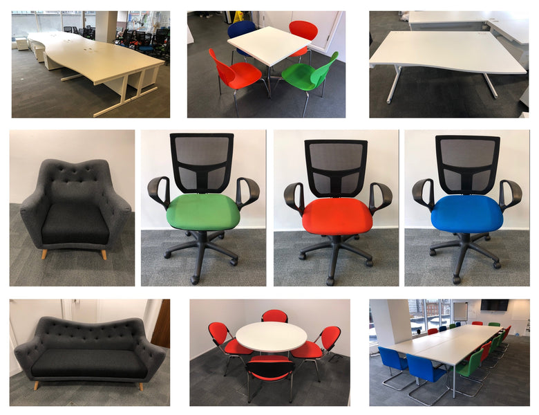 Latest Arrivals - White Wave Desks, Mesh Chairs, Reception Furniture, Meeting Room Furniture and more