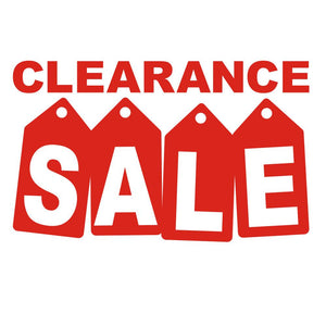 Text - Clearance Collection Added to Online Shop