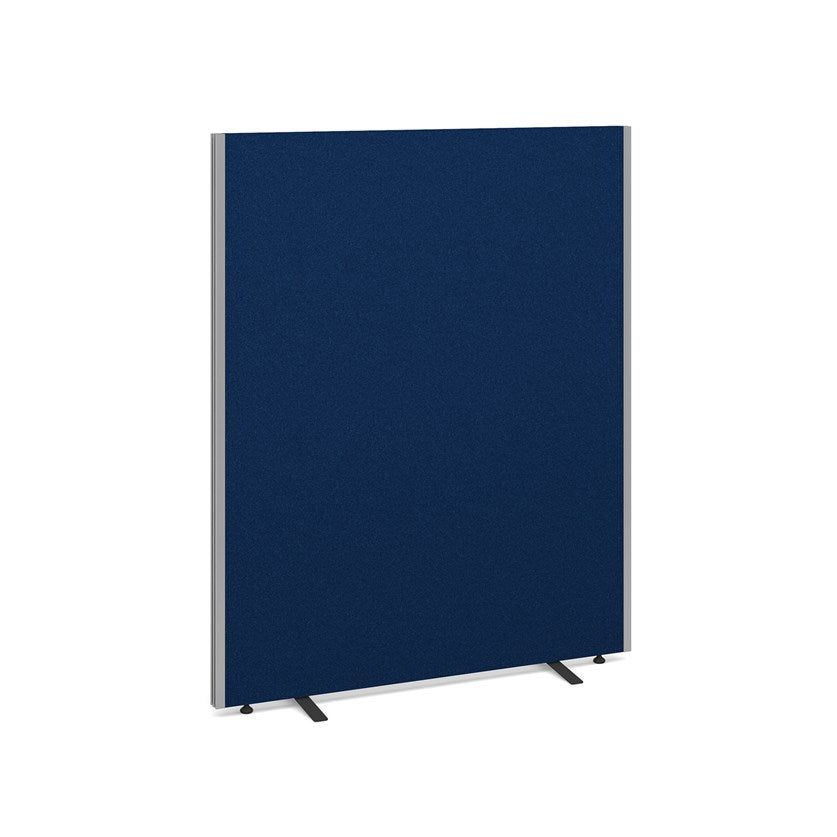 Floor Standing Fabric Screen - Blue - Flogit2us.com