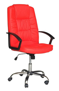 High Back Managers Chair Red