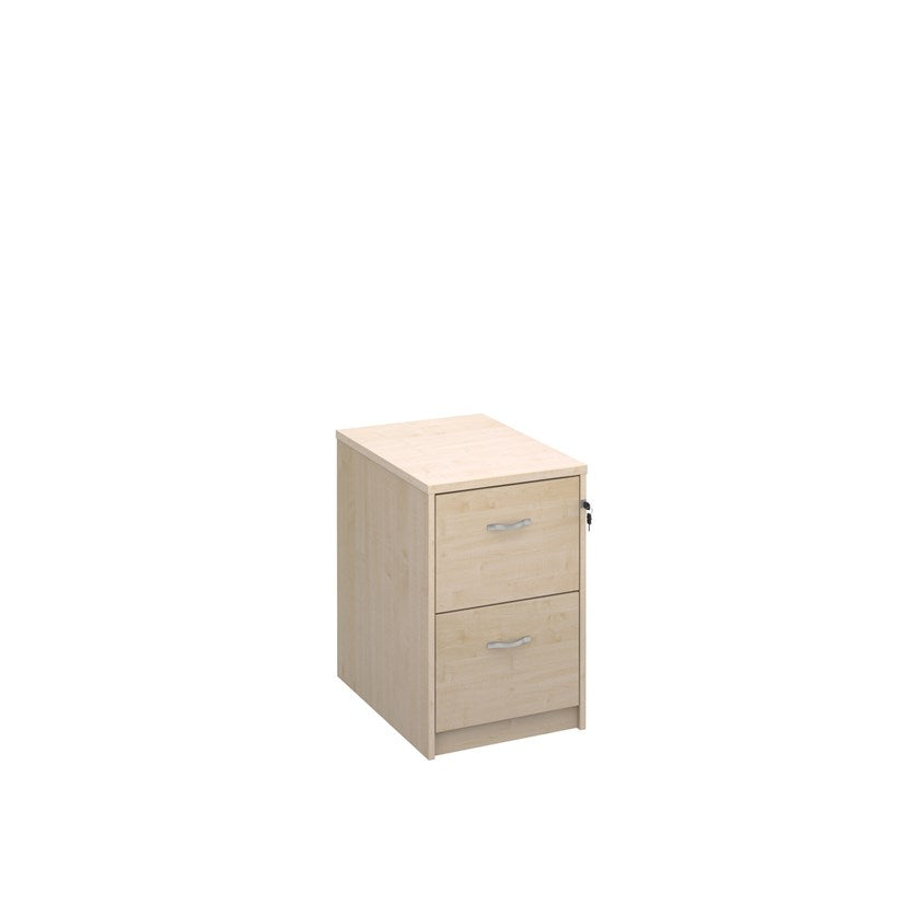 Deluxe Wooden Filing Cabinet - Maple - Flogit2us.com