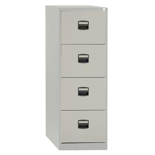 4 Drawer Steel Filing Cabinet (Used) - Flogit2us.com
