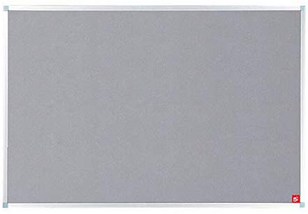 5 Star Noticeboard with Fixings - Grey - Flogit2us.com