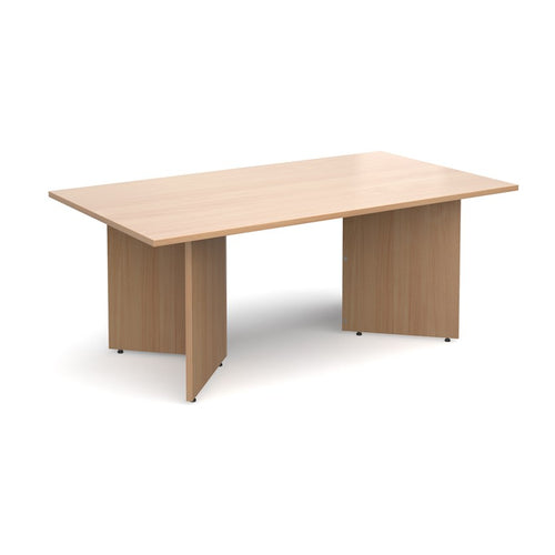 Arrow Rectangular Boardroom Table - Flogit2us.com