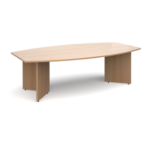 Arrow Radial Boardroom Table - Flogit2us.com