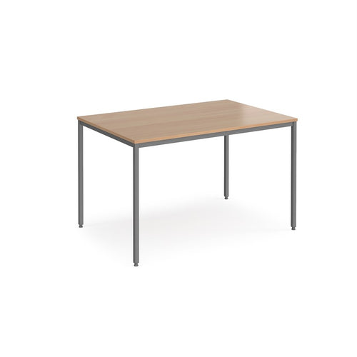 Rectangular Flexi Table With Graphite Frame - Flogit2us.com